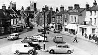 Newsquest (Oxford Mail): Bicester Market Square looking west (1956)